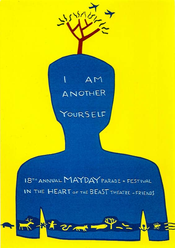 MayDay 1992 poster by Sandy Spieler