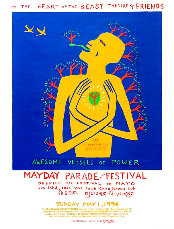 MayDay 1994 poster by Sandy Spieler