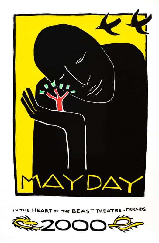 MayDay 2000 poster by Sandy Spieler