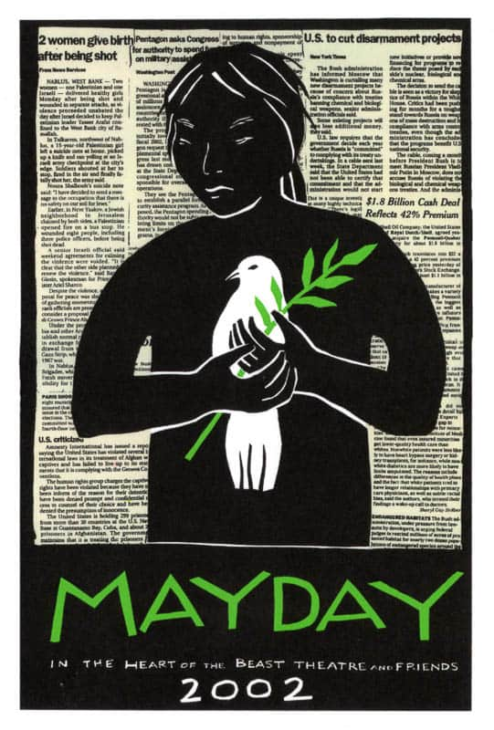MayDay 2002 poster by Sandy Spieler