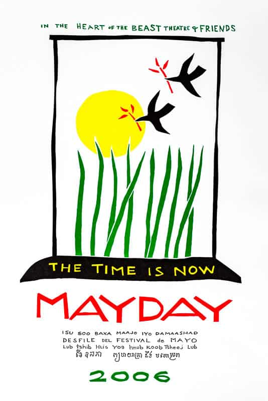MayDay 2006 poster by Sandy Spieler