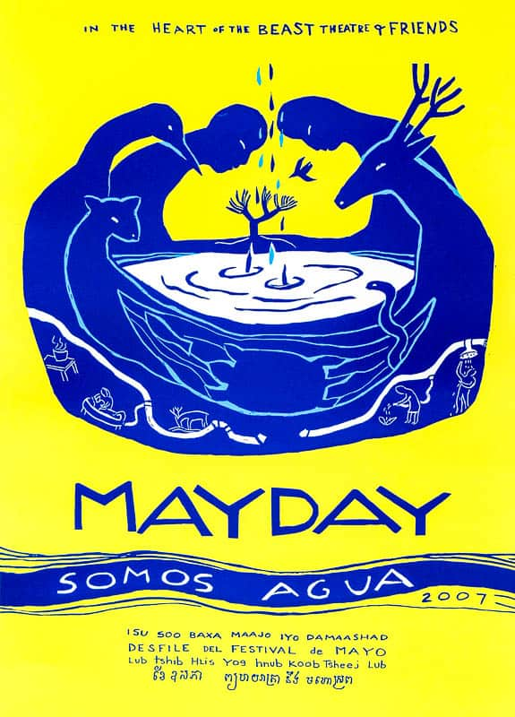 MayDay 2007 poster by Sandy Spieler