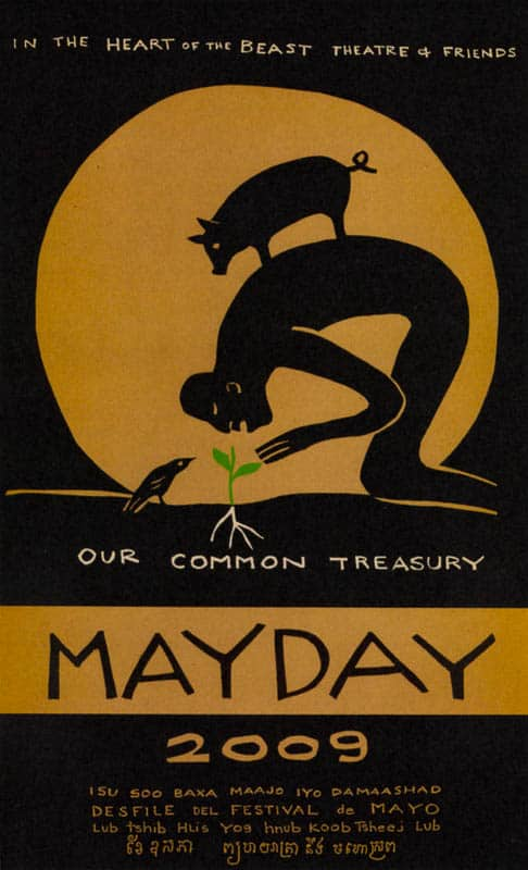 MayDay 2009 poster by Sandy Spieler