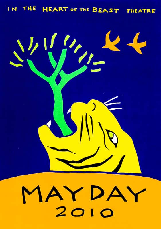 MayDay 2010 poster by Sandy Spieler