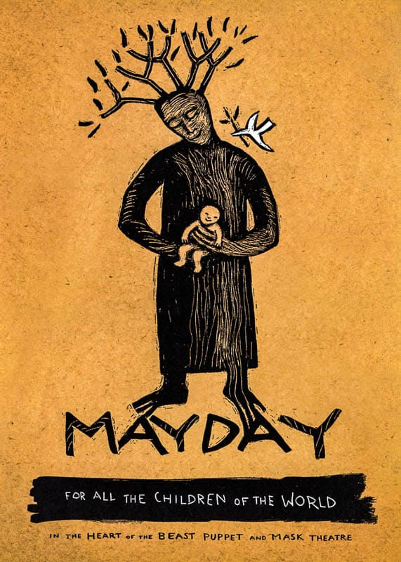 MayDay 2013 poster by Sandy Spieler