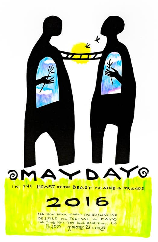 mayday 2016 poster by Sandy Spieler