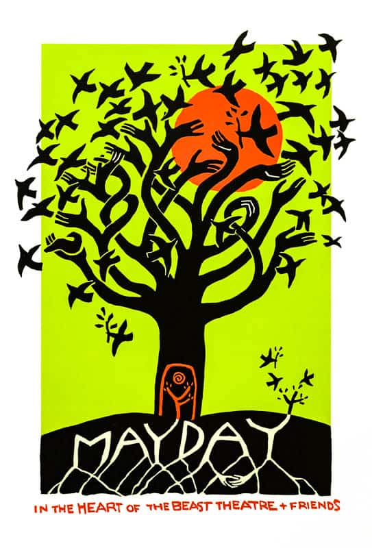 MayDay 2019 poster by Sandy Spieler