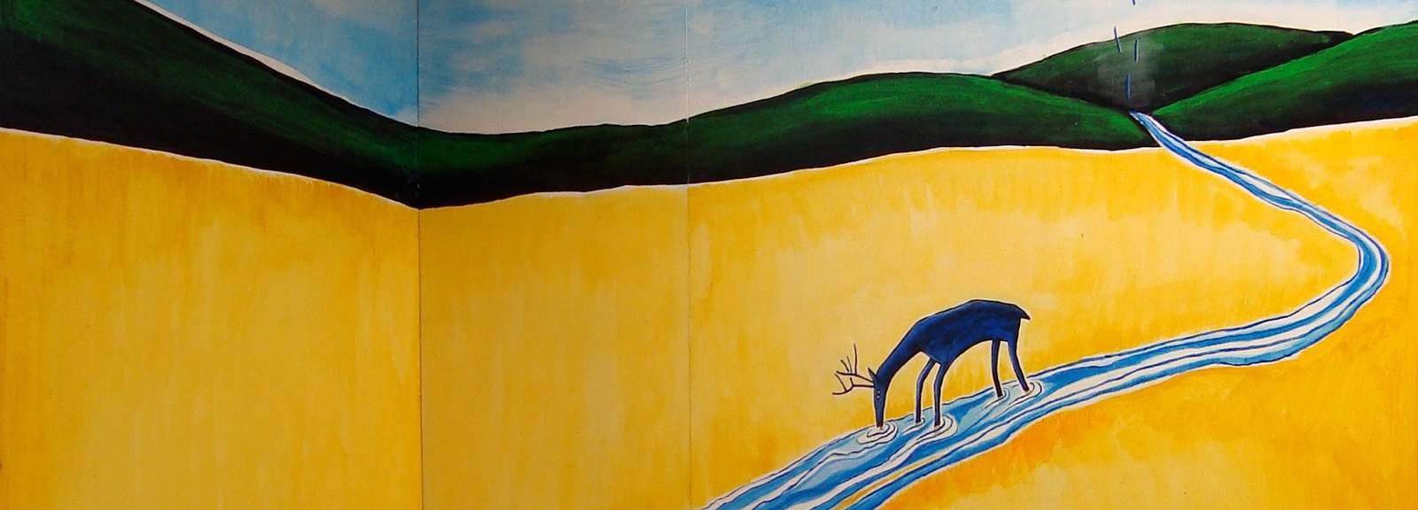 sandy-spieler-deer-wall-536