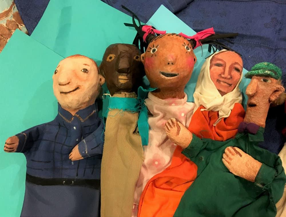Sandy Spieler Hand Puppets