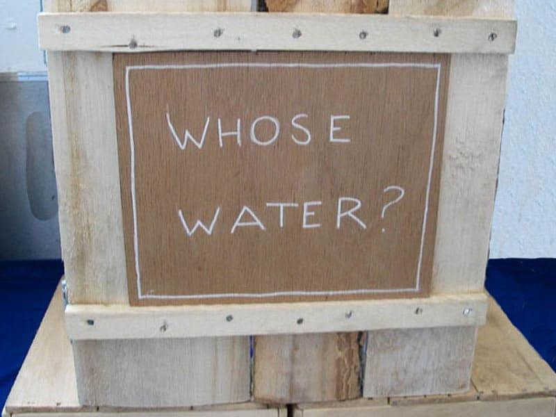 whose water by sandy spieler